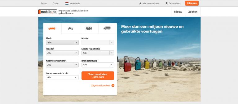 mobile.de-zoeken